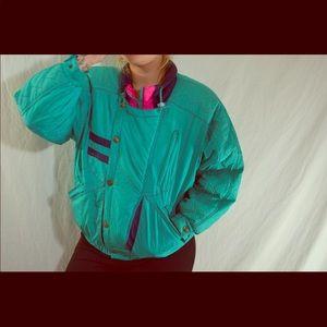 Jackets & Blazers - Vintage Paris sport club coat